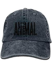 Xdevrbk Animal Carta Imprimir Stringer Culturismo Gorras de béisbol  Snapbacks Gorros Lisos Multicolor20 b7ba0a657c7