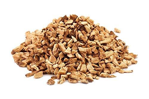Un ingrediente muy popular en la medicina china tradicional. Descripción: nuestras setas orgánicas Shiitake son aprox. 4-7 mm de tamaño, cortado y ordenado a mano. Su ramo/aroma es muy intenso y complejo, con un sabor a umami muy pronunciado. Los set...
