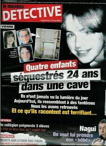 Le Nouveau Détective - n°1338 - 07/05/2008 - Vienne : 4 enfants sequestrés 24 ans dans une cave