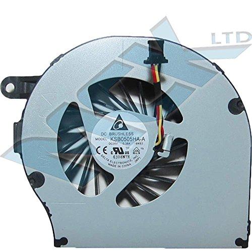 Metal ventilador de refrigeración CPU de HP G62COMPAQ CQ62CQ72KSB0505HA-A 606013–001612354–001