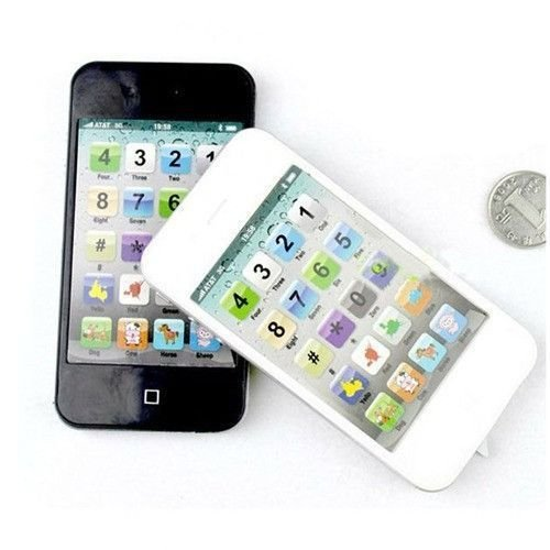 BATTERY OPERATED IPHONE 5 STYLE SHAPED WALKIE TALKIE SET TOY...