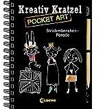 Kreativ-Kratzel Pocket Art: Strichmännchen-Parade (Kreativ-Kratzelbuch)