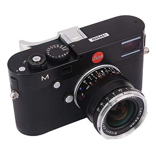 haoge thb-m24s Metall Hot Schuh Daumen bis Rest Hand Griff für Leica M Typ240M240, m-p Typ 240m240p, M type262M262, m-d Typ 262Kamera Silber