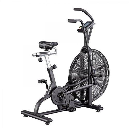 Perform Better Erwachsene Assault Air Bike Fitnessfahrrad, Schwarz, 130 x 61 x 124 cm