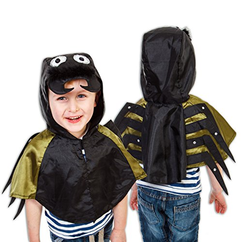 Kinder 3-8 Jahre alt - Spinnenkostüm Karneval - Slimy Toad ()