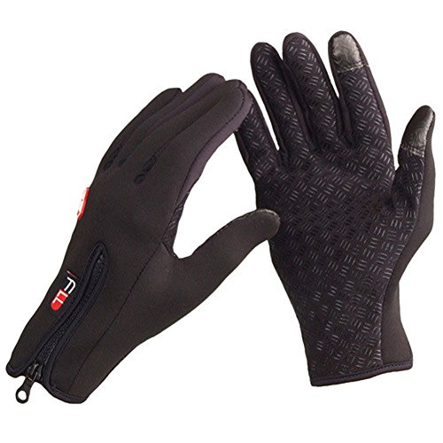LUCKY STONE LuckyStone Outdoor Cycling Ski Winter Cold Weather Gloves finger Gloves for Adult & Teens