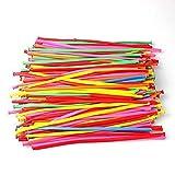 Yosoo 200 pezzi magici lattice palloncini lunghi per la festa di compleanno di compleanno di nozze decorazione ballon (colore a caso)