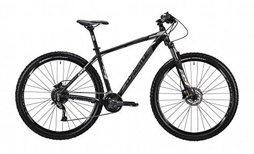 """WHISTLE Mountain Bike 29\"""" front/hardtail Patwin 1832, 27 velocità, colore antracite - nero opaco, misura M 19\"""" (170-185 cm)"""