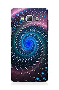 AMEZ Beautiful swirl design Back Cover For Samsung Galaxy A7