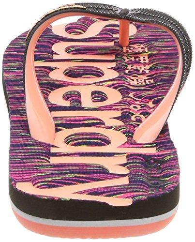 Superdry Scuba Flip Flop, Tongs Femme Rosa (Purple Slub)