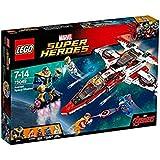 LEGO - 76049 - Marvel Super Heroes - Jeu de Construction - La Mission Spatiale dans l'Avenjet