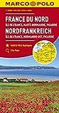 MARCO POLO Karte Frankreich Nordfrankreich 1:300 000: Île-de-France, Normandie-Ost, Picardie: Wegenkaart 1:300 000 (MARCO POLO Karten 1:300.000)