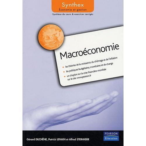 Macroéconomie Synthex