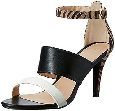Addons Women's Black Fashion Sandals - 6 UK/India (39 EU)
