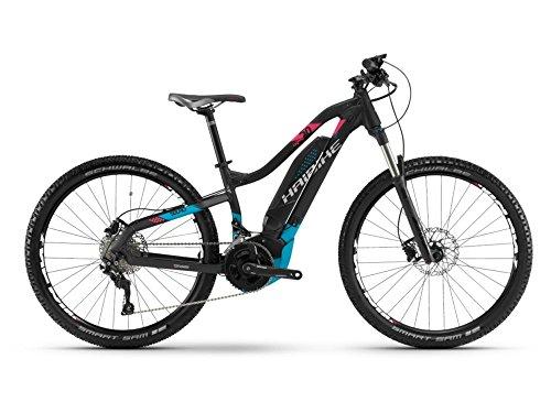 Haibike SDURO HardLife 5.0 E-Bike 500Wh E-Mountainbike schwarz/blau/pink matt