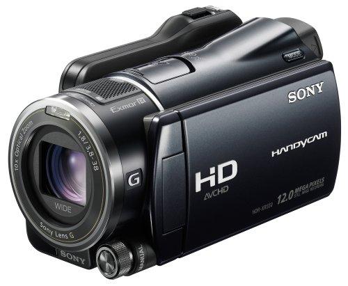 Sony HDR-XR550VEB Full HD Camcorder (240 GB Festplatte, 10 fach optischer Zoom, 8,8 cm (3,5 Zoll) Display, EXMOR R Sensor) schwarz Sony Handycam Audio