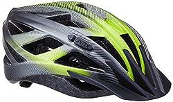 Uvex Erwachsene Xenova CC Fahrradhelm Dark Silver/Green Mat, 52-57 cm