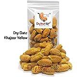 Dry Fruit Hub Dry Fruits Dates 1kg Sukha Yellow Khajoor Dates - Pack Of 1 Kg