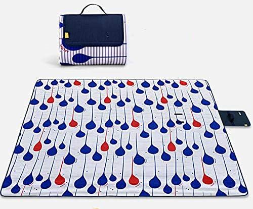 SYT Blankets Stuoie di stuoie stuoie stuoie di picnic del prato inglese di stuoia esterna impermeabile stuoia di campeggio del cotone, 1.5x2.0M, goccioline di acqua   Prodotti di alta qualità    Usato in durabilità  ecfa6a