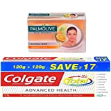 Colgate-Palmolive Skin Therapy Vitamin C And E Soap - 75 G With Colgate Total Advanced Health Toothpaste - 240 G