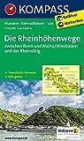 Die Rheinhöhenwege zwischen Bonn und Mainz/Wiesbaden und der Rheinsteig.: Wanderkarte mit Radtouren und tourisitschen Hinweisen. GPS-genau. 1:50000 (KOMPASS-Wanderkarten, Band 829)