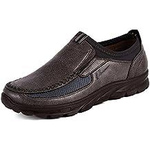 Flip Flops Herren,sonnena Männer Flip Flops Schuhe Sandalen männlich Pantoffel innen & Outdoor Flip-Flops Nylon/Basis/Solid/Injektion (41, Gut Braun)