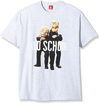 The Muppets Old School Waldorf & Statler T-Shirt male grey-melange, Größe:S