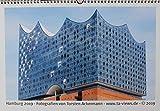 Hamburg Kalender 2019 - Motive: Elbphilharmonie, Hamburger Hafen, Alster, St. Pauli Landungsbrücken, Speicherstadt, Blankenese - Bilder/Fotos / Souvenirs (Format: DIN A3 / 42 x 29,7 cm)