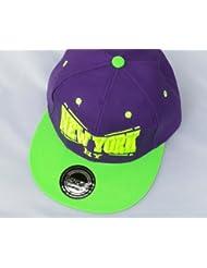 "Midi Shopping - Casquette Snapback Pas Cher Cap Hat Flatbrim ""New York"" CAP 10NY"