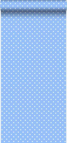 Tapete Punkte Hellblau - 138103 - von ESTAhome.nl