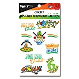India Cricket - Designer Temporary Tatto...