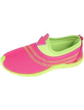 [Patrocinado]AquaWave Aqua Shoes Kids - Zapatos de Agua Para la Playa, el Mar, el Lago - Zapatos de Baño Ideales Como Protección...