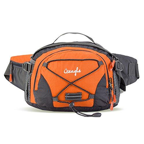 Outdoor Peak - Riñonera negro naranja