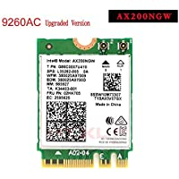 MQUPIN Intel Dual Band Wireless AX200NGW 2.4Gbps 802.11ax Wireless Intel AX200 WiFi Card Bluetooth 5.0