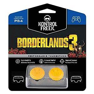 KontrolFreek Borderlands 3 Claptrap Performance Thumbsticks für PlayStation 4 (PS4) | 2 x Mittel Konvex | Gelb