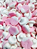 Malaco Pink Raspberry Mushroom Marshmallows - Scandinavian sweets (Full Tub 938g)