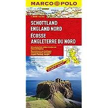 MARCO POLO Karte Schottland, England Nord (MARCO POLO Karten 1:300.000)