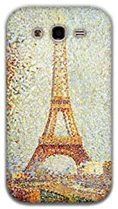 The Racoon Lean Eiffel Tower - Seurat hard plastic printed back case / cover for Samsung Galaxy Grand Neo