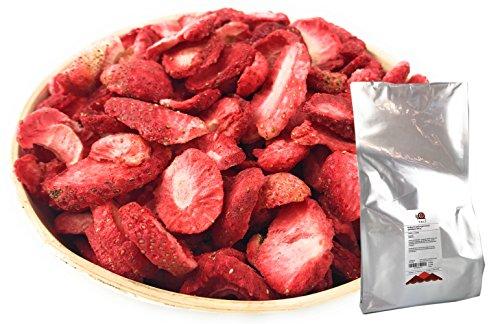TALI Erdbeeren gefriergetrocknet, Scheiben 500 g