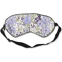 Comfortable Sleep Eyes Masks Lavender Floral Tropic Printed Sleeping Mask For Travelling, Night Noon Nap, Mediation... preisvergleich bei billige-tabletten.eu