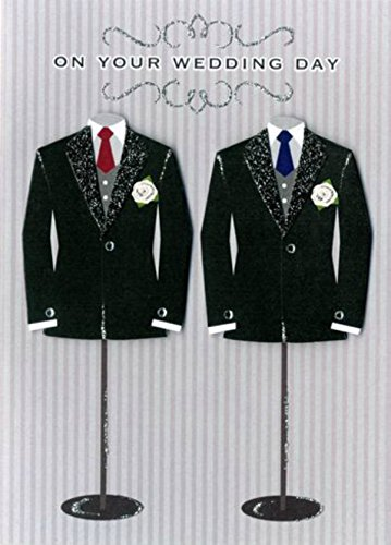 hand-finished-wedding-day-card-mr-mr-2-tuxedos-on-stands-by-second-nauture-cards