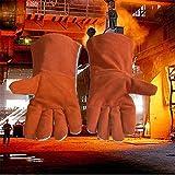 QETY Isolierte Handschuhe, 35 cm 500 Grad Hoc...Vergleich