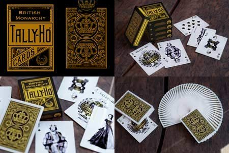 tally-ho-british-monarchy-playing-cards-by-lux-playing-cards-trick-by-lux