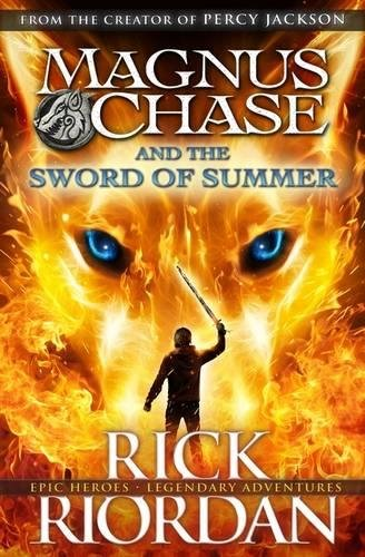 Magnus Chase and the Sword of Summer (Book 1) Cover Image