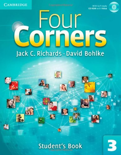 Four Corners Level 3 Full Contact with Self-study CD-ROM: Four Corners  3 Student's Book with Self-study CD-ROM