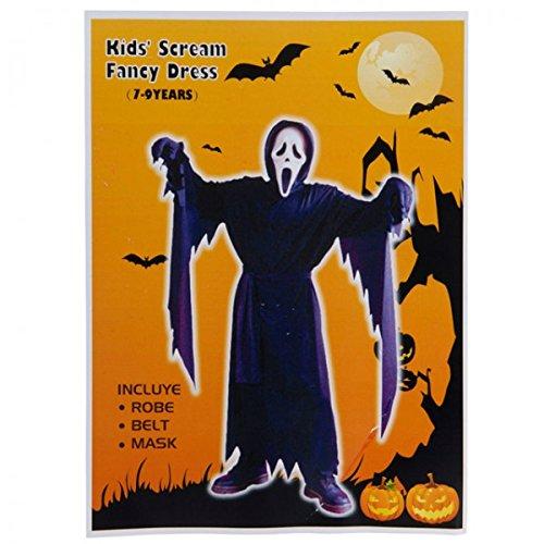 Kostüm Halloween Junge 4-fach sortiert Karneval Fasching Halloween Verkleidung, Größe:4-6 (Kid Kostüm Jungen Teufel)