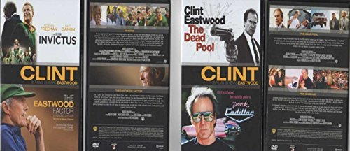 4 Feature Movies - Invictus, Eastwood Factor, The Dead Pool, Pink Cadillac - Region 2