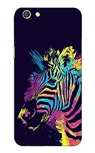 100 Degree Celsius Back Cover for Oppo F3 (Designer Printed Multicolor)