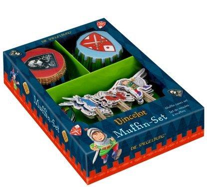 Preisvergleich Produktbild Vincelot Muffin Fällen Set, 14,5x 19,5x 4cm, Modell # 11016