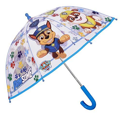 Paraguas Transparente Patrulla Canina Niño   Paraguas